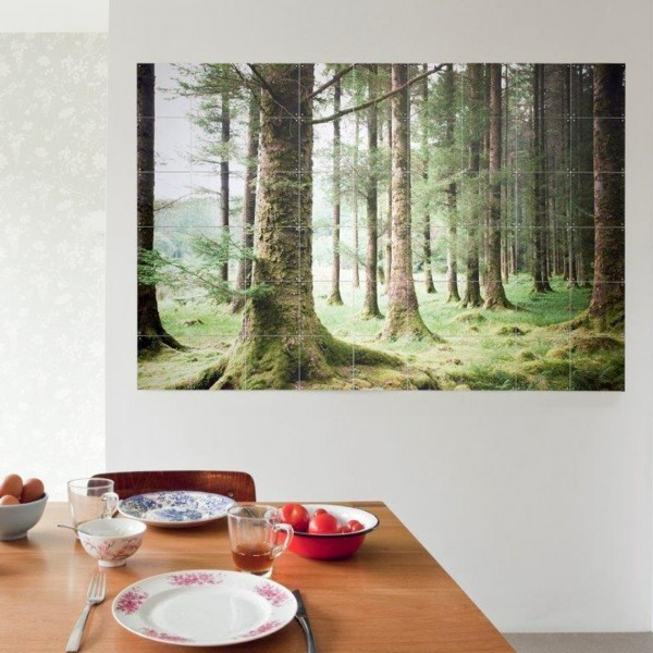 IXXI PANEL OF CHINESE WALLPAPER POSTER 80X100