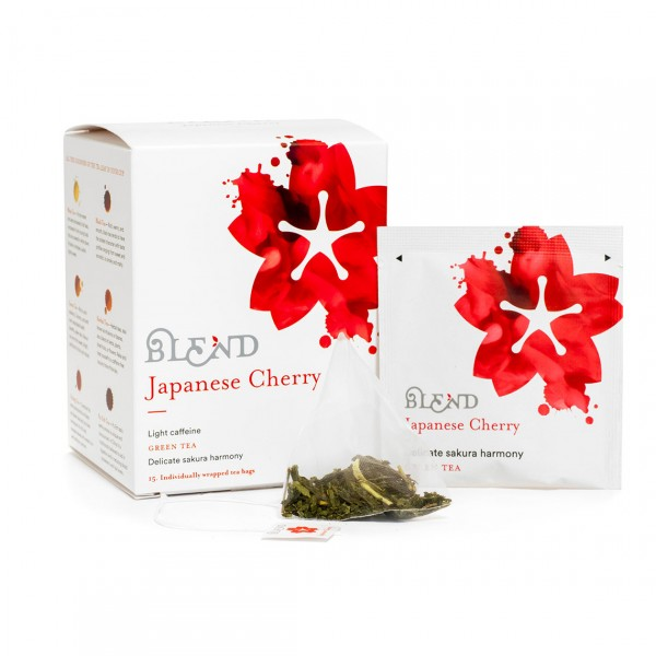 BLEND TEA JAPANESE CHERRY TÈ VERDE