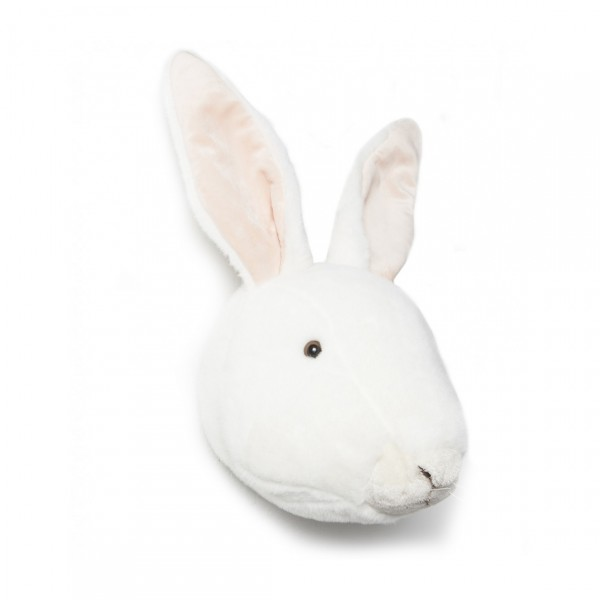 WILD & SOFT TROPHY PELUCHE WHITE RABBIT