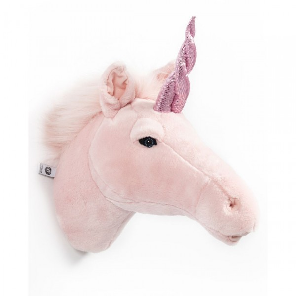WILD & SOFT TROPHY PELUCHE PINK UNICORN