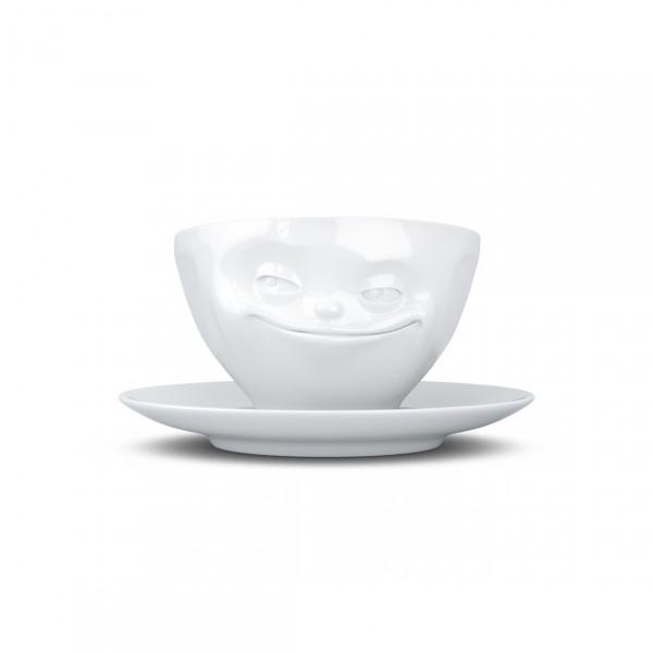TASSEN COFFEE CUP GRINNING WHITE