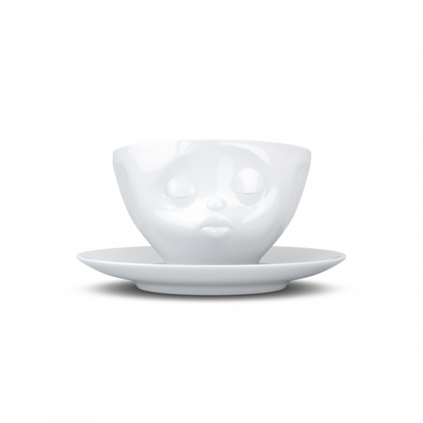 TASSEN COFFEE CUP KISSING WHITE