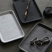 PUEBCO CAST IRON TRAY BLACK