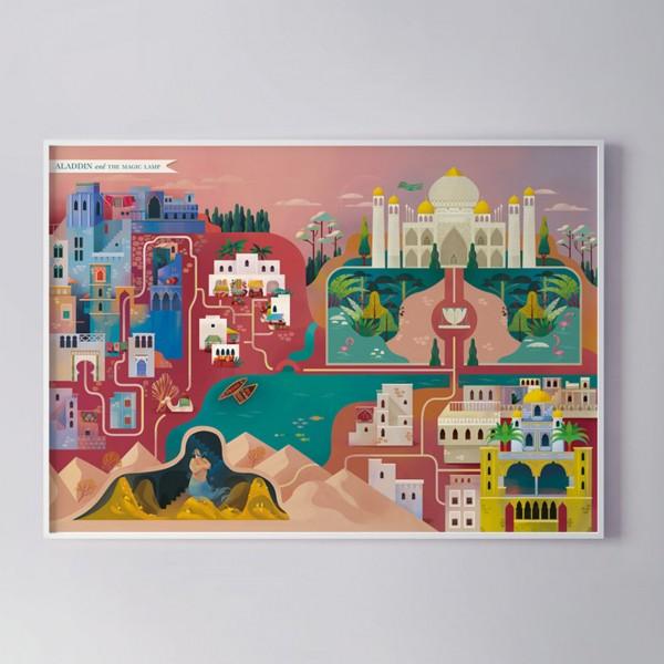 MONDOMOMBO MAPPA DI ALADINO