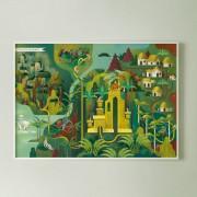 MONDOMOMBO THE JUNGLE BOOK MAP