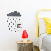 TRESXICS WALL HANGER CLOUD AND RAINDROP STICKERS