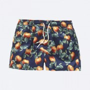 OAS KIDS DARK ORANGE SWIM SHORTS
