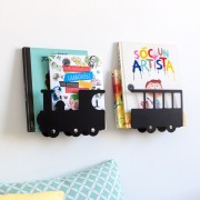 TRESXICS TRAIN BOOKSHELF BLACK