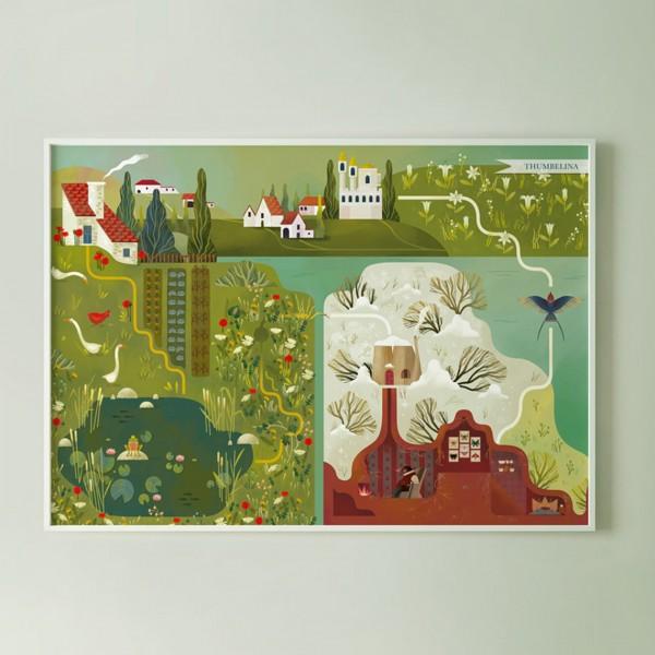 MONDOMOMBO THUMBELINA MAP