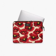 WOUF POPPY LAPTOP SLEEVE 13""
