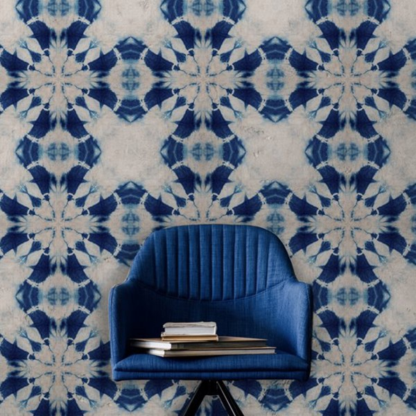 MIND THE GAP WALLPAPER SHIBORI FLOWER