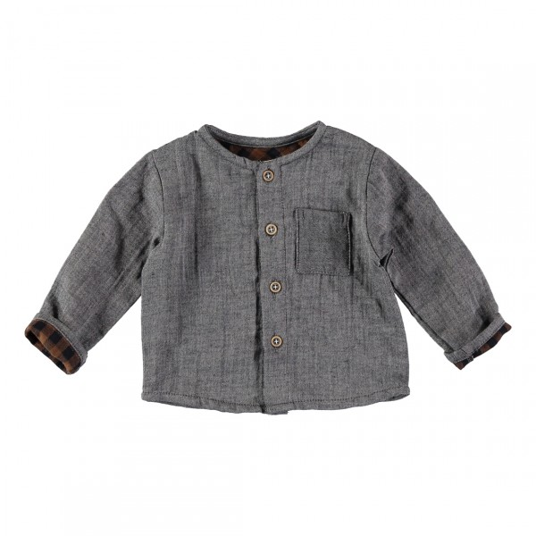 "BUHO ""COOKIE"" JACQUARD KNIT CARDIGAN"