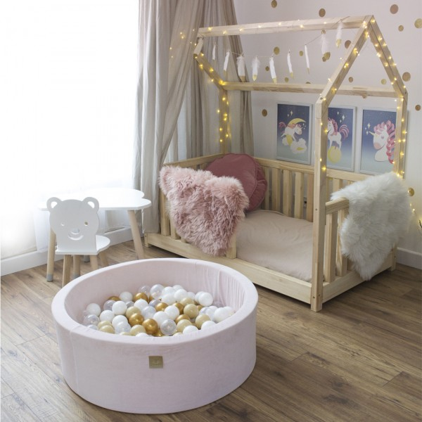 MEOW FOAM PLAYSET WITH BALL PIT PINK