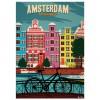 "SERGEANT PAPER ART PRINT ""AMSTERDAM"" BY ALEX ASFOUR"