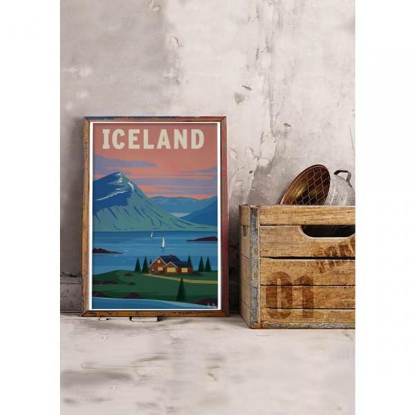 "SERGEANT PAPER ART PRINT ""ICELAND"" BY ALEX ASFOUR"