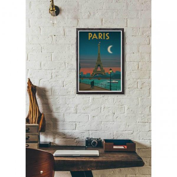 """SERGEANT PAPER ART PRINT """"PARIS"""" BY ALEX ASFOUR"""
