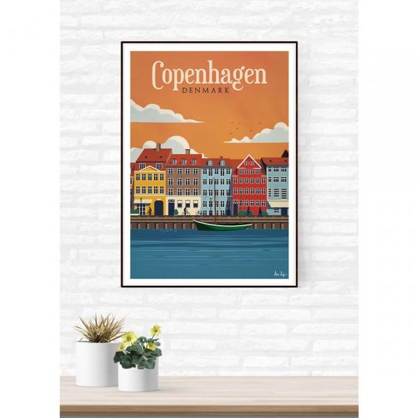 "SERGEANT PAPER ART PRINT ""COPENHAGEN"" BY ALEX ASFOUR"