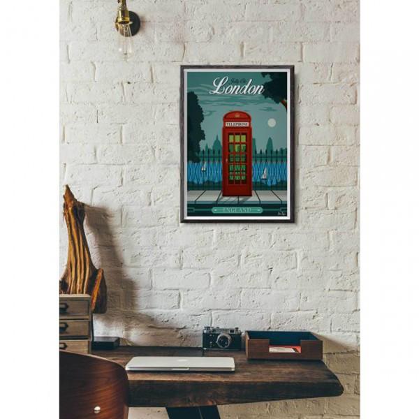 "SERGEANT PAPER ART PRINT ""LONDON"" BY ALEX ASFOUR"