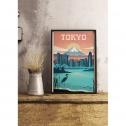"SERGEANT PAPER ART PRINT ""TOKYO"" BY ALEX ASFOUR"