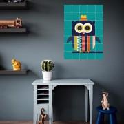 IXXI OWL WALLPAPER POSTER 70X98
