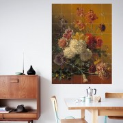 IXXI STILL LIFE WITH FLOWERS - VAN OS WALLPAPER POSTER 80X100