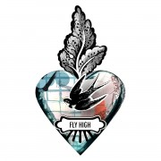 MIHO EX-VOTO HEARTS FLY HIGH / VOLA ALTO