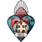 MIHO EX-VOTO HEARTS FAMILY FIRST / FAMIGLIA