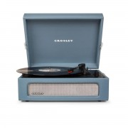 CROSLEY LETTORE VINILE VOYAGER WASHED BLUE