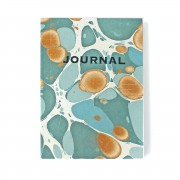 SUKIE JOURNAL COPERTINA MARMORIZZATA SEA GREEN