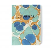 SUKIE JOURNAL COPERTINA MARMORIZZATA ROYAL BLUE