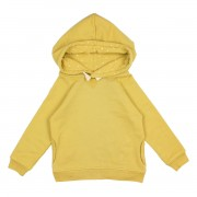 "BUHO FLEECE HOOD SWEATER ""MAURO"" OCRE"