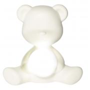 QEEBOO LAMPADA TEDDY GIRL BIANCO