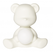 QEEBOO TEDDY GIRL LAMP WHITE