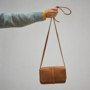 "KEECIE HANDBAG ""LUNCH BREAK"" COGNAC"