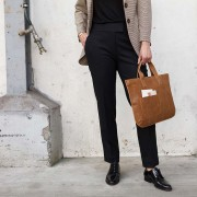 "KEECIE BAG ""ELEPHANT JOKE"" COGNAC"