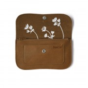 "KEECIE WALLET ""FLASH FORWARD"" COGNAC"
