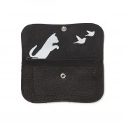 "KEECIE WALLET ""CAT CHASE"" BLACK"