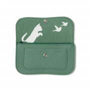 "KEECIE WALLET ""CAT CHASE"" FOREST"