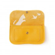 "KEECIE WALLET ""CAT CHASE"" YELLOW"