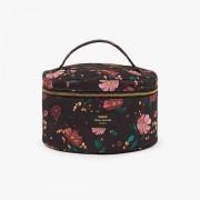 WOUF BLACK FLOWERS XL MAKEUP BAG