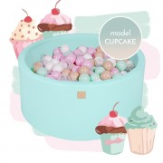 "MEOW ROUND BALL PIT ""CUPCAKE"" MODEL"