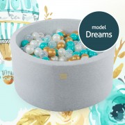 "MEOW ROUND BALL PIT ""DREAMS"" MODEL"