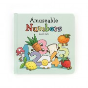 """JELLYCAT LIBRO """"AMUSEABLE NUMBERS"""""""