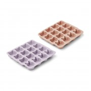 """LIEWOOD """"SONNY"""" ICE CUBE TRAY 2 PACK MINT MIX"""